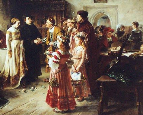 Fuhrung Durch Die Sonderprasentation Luthers Hochzeit Stadtmuseum Im Fembo Haus