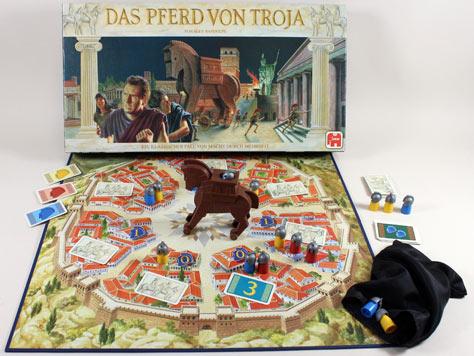 Das Pferd von Troja [Brettspiel].: : Bücher