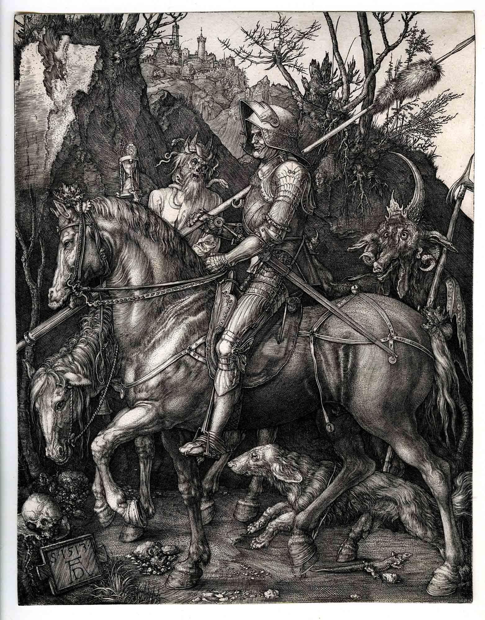 Albrecht D U00fcrer Ritter Tod Und Teufel U2013 Kunstsammlungen