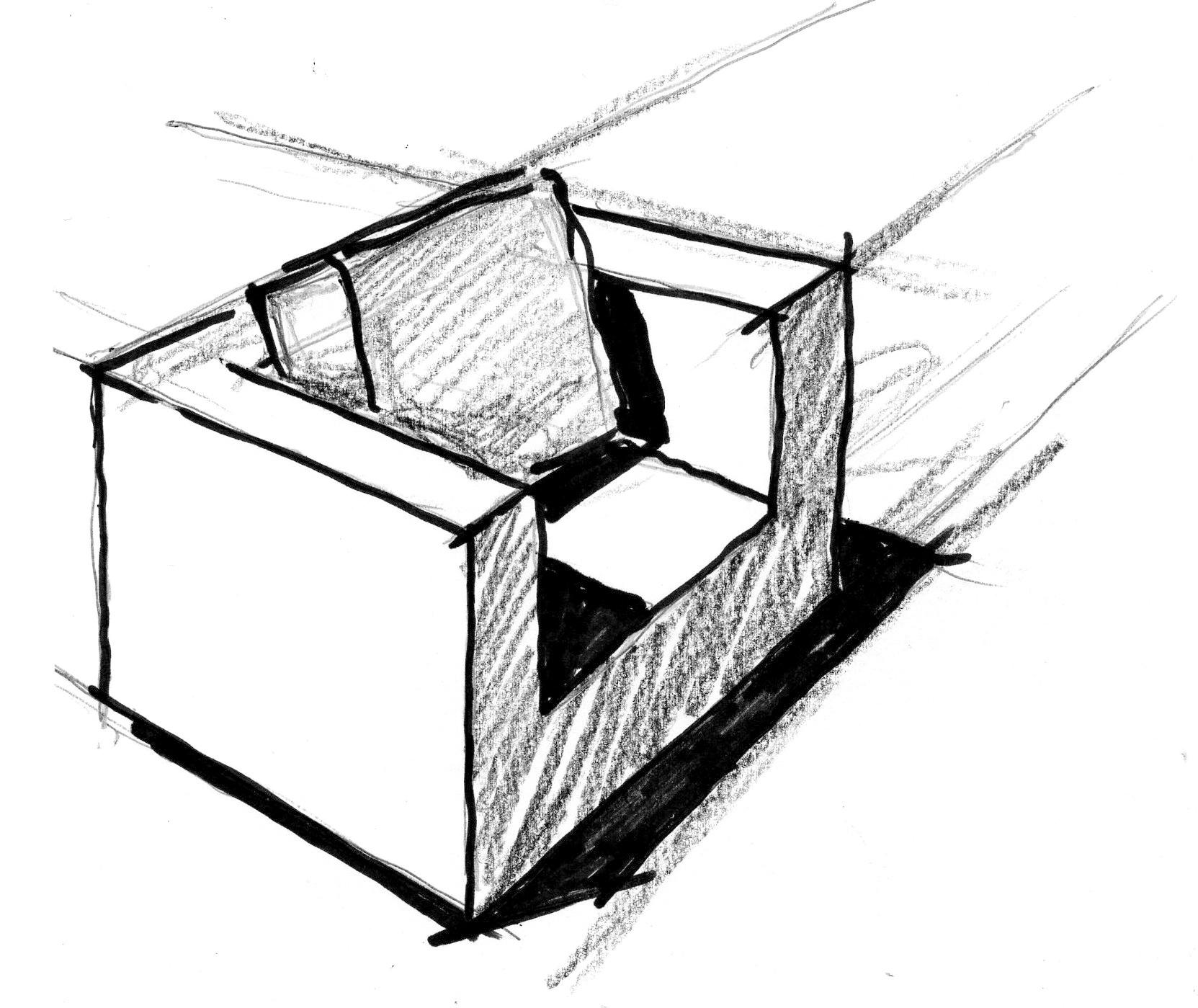 Sessel skizze  Pressematerial zu